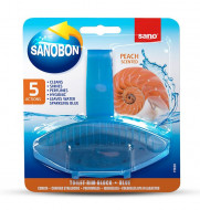 Odorizant wc Sano Bon Blue Peach 5in1