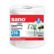 Prosop din hartie Sano Super Strong 3 straturi 250 bucati