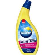 Detergent spuma activa pentru WC Sano Bon cu lavanda 750ml