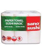 Prosop din hartie Sano Sushi 6buc