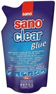 Detergenti geamuri Sano Clear Blue - Rezerva 750 ml