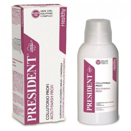 Apa de gura President Profi Clorhexidina 0,2% actiune Antibacteriana