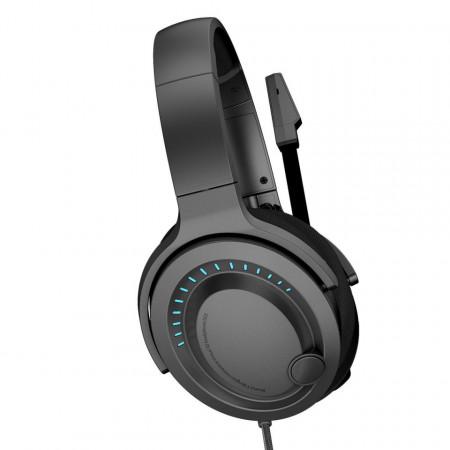 Casti gaming Baseus GAMO D05 cu microfon, sunet 3D, USB (negru)