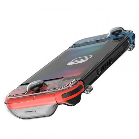 Husa 360° Baseus GS06 pt Nintendo Switch (transparent)