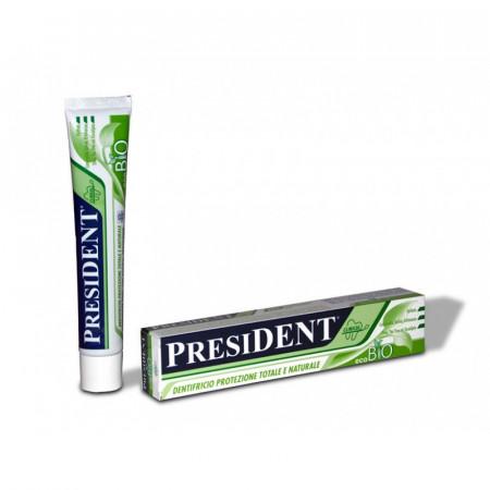 Pasta de dinti President Eco Bio homeopatie