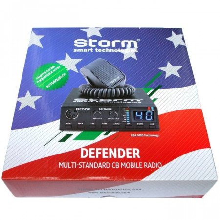 Promotie statie radio CB Storm Defender + antena CB Megawat ML 100 + baza magnetica
