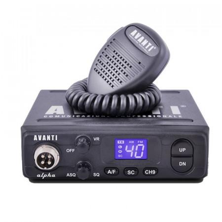 Statie Radio CB Avanti Alpha *PRO-Version*