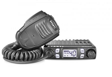 Promotie statie radio CB Avanti Micro + antena Megawatt ML100 + baza 145