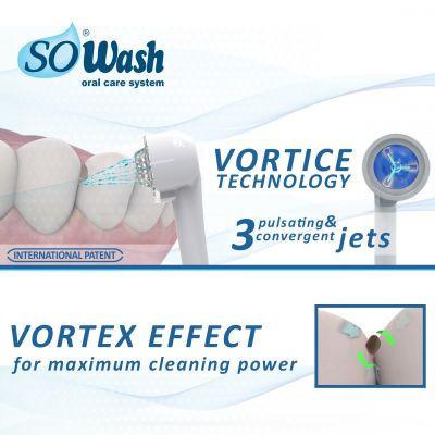 Set 4 Periute de dinti pentru dusul bucal So Wash perii Hard