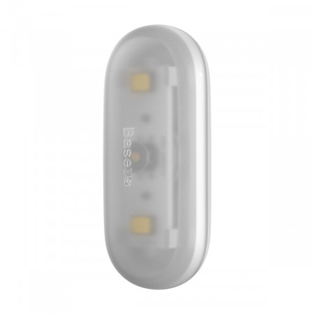 Lampa auto Baseus Capsule pt luminat interior, 2 buc (alb)