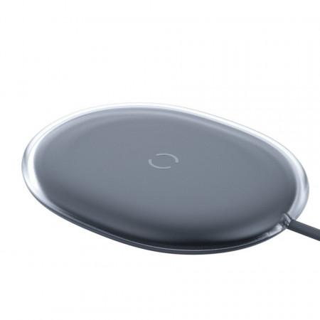 Incarcator wireless Baseus Jelly, 15W (negru)