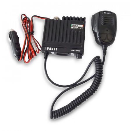Promotie statie radio CB Avanti Micro + antena CB Avanti Cento + baza magnetica 145PL