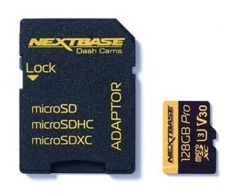 Card micro SD 128GB U3 cu adaptor Nextbase NBDVRS2SD128GBU3