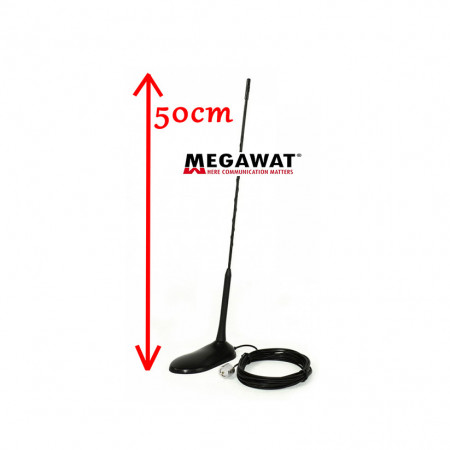 Pachet Statie Radio CB Avanti Micro + Antena Megawat MW47
