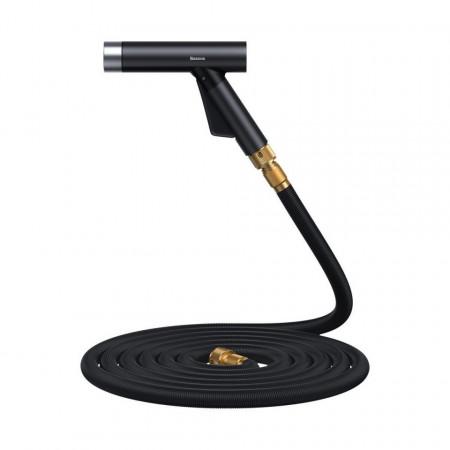 Pistol spalare Baseus Simple Life, cu furtun 30m (negru)