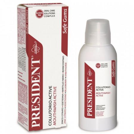 Apa de gura President Active boli gingivale si parodontoza