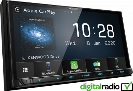 Sistem multimedia 2 DIN fara CD Kenwood DMX7520DABS