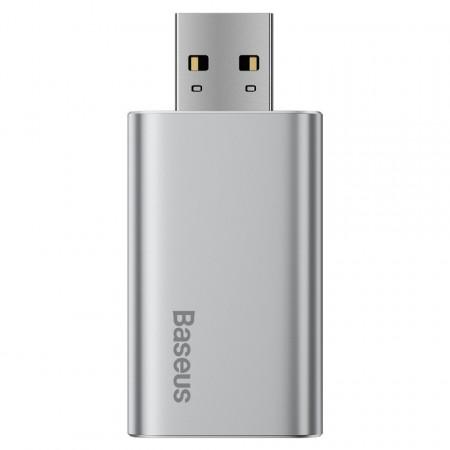 Stick USB 64GB Baseus Enjoy, cu functie de incarcare (argintiu)