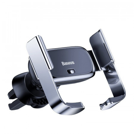 Suport auto telefon electric Baseus Mini Electric Holder (argintiu)