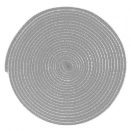 Organizator cabluri Baseus Rainbow Circle Velcro Straps 3m (gri)