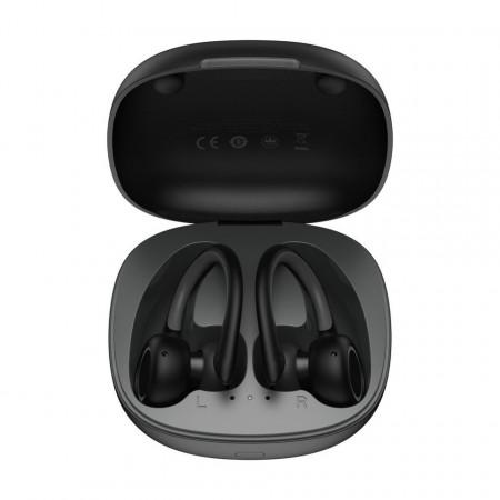 Casti wireless Baseus Encok W17 TWS, Bluetooth 5.0 (negru)