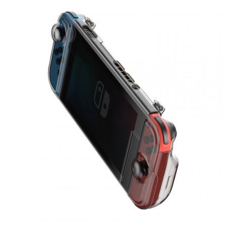 Husa 360° Baseus GS06 pt Nintendo Switch (negru)