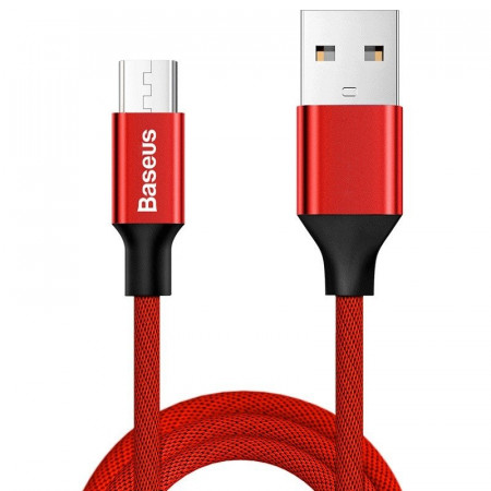 Cablu Baseus Yiven Micro USB 150cm 2A - rosu