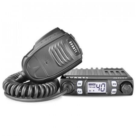 Promotie statie radio CB Avanti Micro + antena CB Avanti Hermes + baza magnetica 145 PL