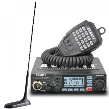 Promotie statie radio CB Avanti Primo + antena President Virginia UP