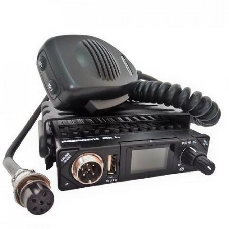 Promotie statie radio CB President Bill + antena CB President Virginia
