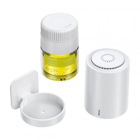 Purificator aer Baseus Micromolecule, impotriva formaldehidelor, bacteriilor si virusurilor 100ml (alb)