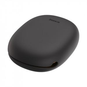 Cablu retractabil USB-C Baseus Let's go Little Reunion, 2A, 1m (galben-gri)