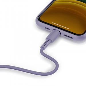 Cablu USB-C - Lightning Baseus Colourful, PD, 18W, 1.2m (violet)