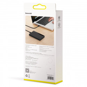 "Carcasa portabila HDD/SSD Baseus Full Speed Series, 2,5"", USB-C Gen.1 (negru)"