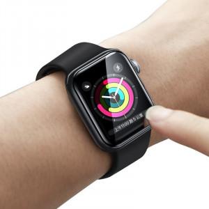Folie sticla flexibila 0,2mm Baseus pt Apple Watch 1/2/3 (38mm)