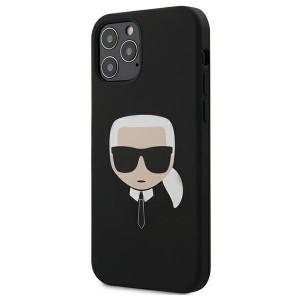 Husa Cover Karl Lagerfeld pentru iPhone 12/12 Pro (negru)
