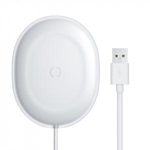 Incarcator wireless Baseus Jelly, 15W (alb)