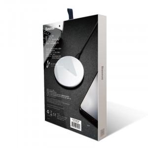Incarcator wireless Baseus Simple 10W Lightning (alb)