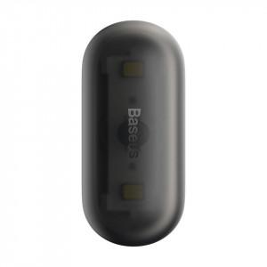 Lampa auto Baseus Capsule pt luminat interior, 2 buc (negru)