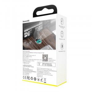 Mini incarcator auto Baseus Tiny Star USB-C, QC 4.0+, PD, 30W (albastru)
