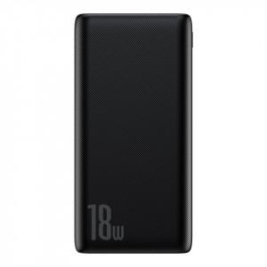Powerbank Baseus Bipow, 10000mAh, QC 3.0, PD, 3A, 18W (negru)