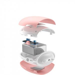 Powerbank cu lumina si functie de incalzire a mainilor Baseus Pocket Bear (roz)