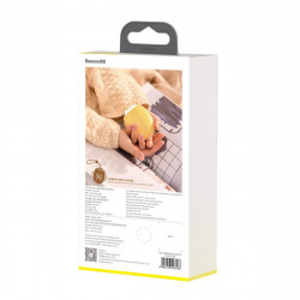 Powerbank cu lumina si functie de incalzire a mainilor Baseus Pocket Bear (galben)