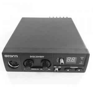 Promotie statie radio CB Storm Discovery + antena CB Storm ML 110 Black + baza magnetica 145 PL