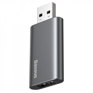 Stick USB 64GB Baseus Enjoy, cu functie de incarcare (gri)