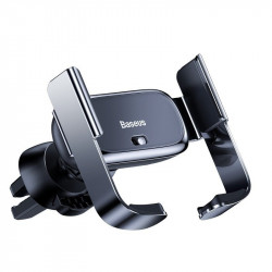 Suport auto telefon electric Baseus Mini Electric Holder (negru)