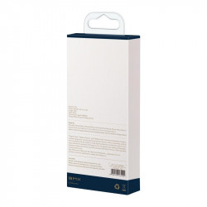 Cablu USB-C - Lightning Baseus BMX Mini White, MFi, Power Delivery, 18W, 1,8m (alb)