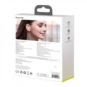 Casti wireless Baseus Encok WM01 Plus, Bluetooth 5.0 (roz)