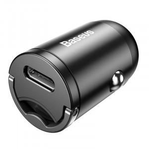 Incarcator auto Baseus Tiny Star, USB-C, 18W, cu cablu Lightning