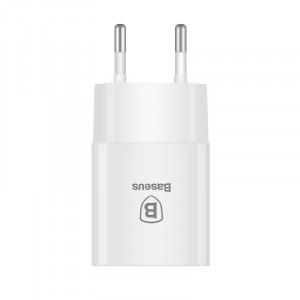 Incarcator retea Baseus Letour, 2.1A, USB (alb)